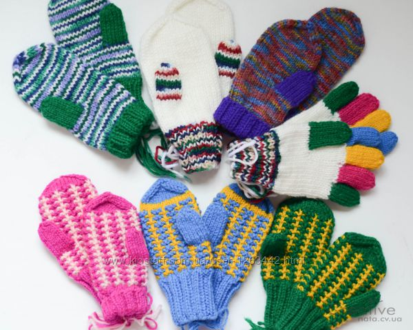 Детские перчатки и варежки