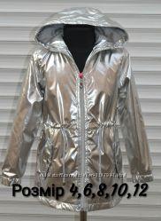 Куртка плащ, деми, для девочек. Размер 4. 116-128