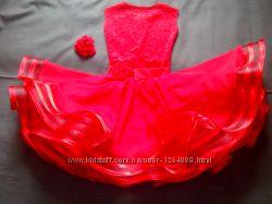 Платье конкурсное для бальных танцев бейзик