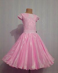 Рейтинговое платье для бальных танцев бейсик конкурсное для соревнований
