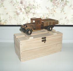 Машинка handmade ГАЗ-АА полуторка дерево эксклюзив ручная работа