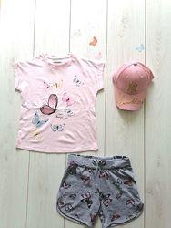 Продам новые футболки р. 2-14л Crazy8, Carters, Children&acutes Place