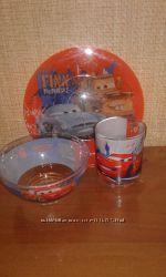 Набор детской посуды Luminarc Disney Cars 2