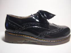 Туфлі броги шкіряні Мальви 24см