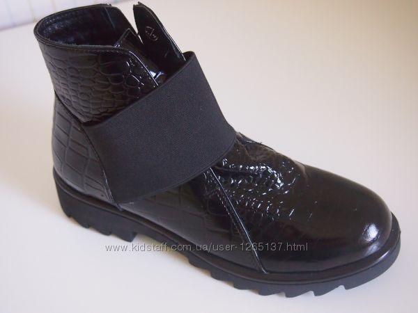 Ботинки Palaris демисезонные лаковые 36-40