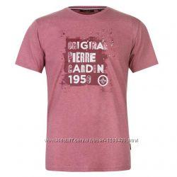 футболка Pierre Cardin red marl