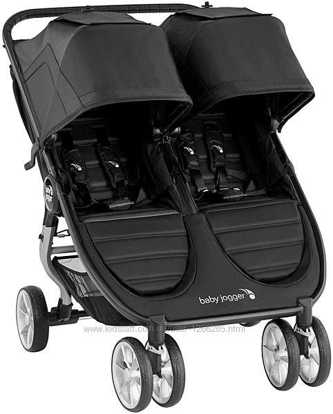 Прогулочная коляска для двойни Baby Jogger City Mini 2Double