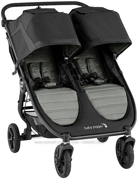 Прогулочная коляска для двойни Baby Jogger City Mini GT 2 Double
