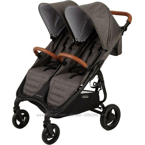 Прогулочная коляска для двойни Valсo Baby Snap Duo Trend
