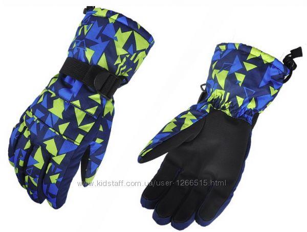 Мужские, женские и подростковые зимние перчатки AsFish, лыжные, горнолыжные