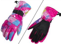 Женские, мужские и подростковые зимние перчатки AsFish, лыжные, горнолыжные