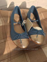 Новые балетки Zara 30 размера