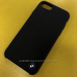 Чехол для iPhone 7, 8 BMW Signature Silicone Case black
