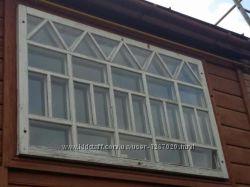 БУ сосновые окна