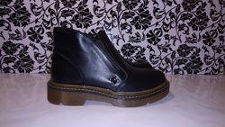 Женские кожаные ботинки демисезон