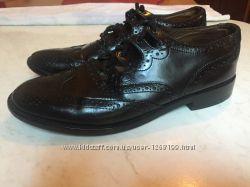 Кожаные туфли 43р.