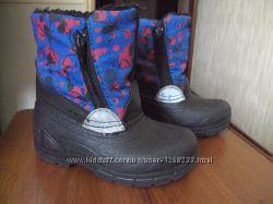 Сапоги ботинки зимние р. 24-25