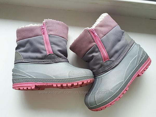 Зимние ботинки сапоги Cherokee р.26-27