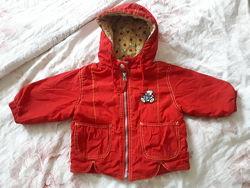 Куртка осень весна демисезонная р.74-92