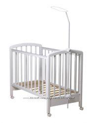 Стойка для балдахина в детскую кроватку двойное крепление
