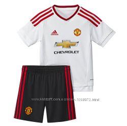 детский костюм adidas Manchester United away art. AC1439 оригинал