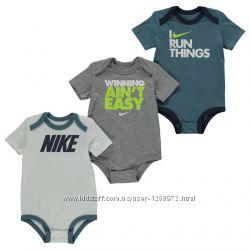 бодики детские Nike Bodysuit 3 pack d9c3655ff81bc