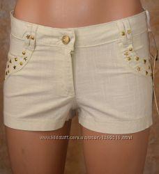 Женские шорты лен