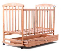 Кроватка Наталка с ящиком