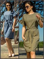 замеры. Льняное платье, Летнее платье, Жіноча сукня, Женское платье.
