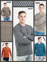 Теплый свитер двойной вязки, мужской свитер, Чоловічий светр