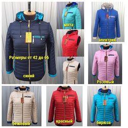 42-66, Демисезонная женская куртка-трансформер, Жіноча куртка
