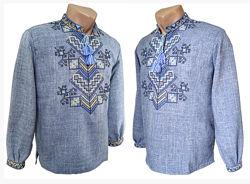 42-72, Мужская сорочка-вышиванка, Чоловіча вишиванка, Мужская вышиванка
