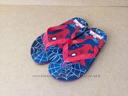 Босоножки вьетнамки шлепанцы Spider Man