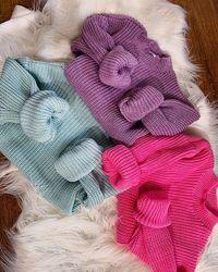 Вязаный свитер джемпер вязка шерсть белый, бежевый, черный, розовый, сиреневый