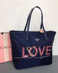 сумочки Victoria&acutes Secret  LOVE. черная и синяя