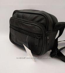 мужская сумка барсетка с длинным ремнем