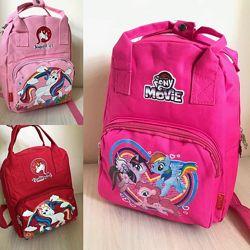 Качественный рюкзак для девочки Единороги и My little pony. 3 цвета