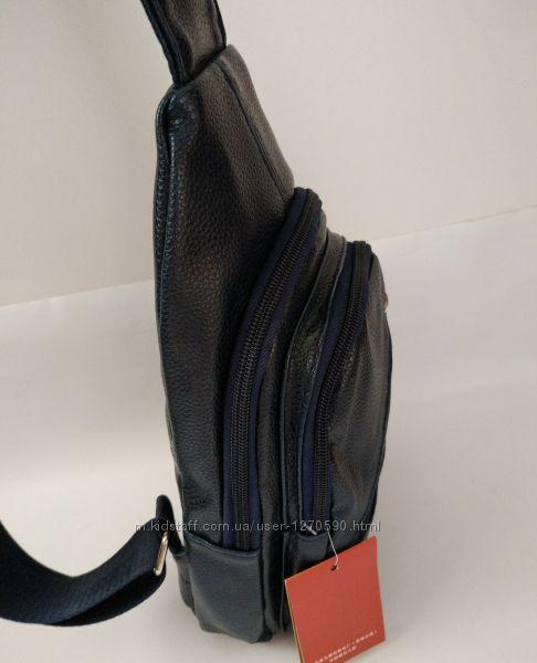 качественная мужская сумка слинг, сумка через плече