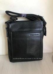 Мужская сумка планшетка Polo Club из натуральной кожи