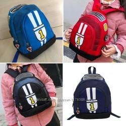 детский рюкзак для мальчика Формула -1. 4цвета