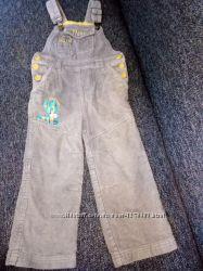 Разные комбинезоны, полукомбинезоны, штаны на осень, рост 98-104 см