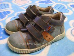 Кожаные ботинки сникерсы Котофей 25-26 р