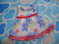 Пакет летней одежды для малышки 3-9 месяцев