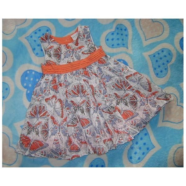 Красивое платье Mini сlub 80-86 см