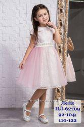 Праздничное нежное платье ТМ Сьюзи р. 92, 98, 104