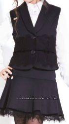 Школьная форма юбка Агнесса ТМ Сьюзи наличие р. 128, 134, 140