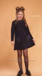 Школьная форма платье Мальвина ТМ Сьюзи р. 122-140