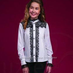Наличие Нарядная блузка ТМ Сьюзи 146, 158