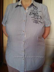 Блуза, рубашка летняя, тенниска женская Soccx, 52-54  44  ХХL