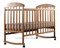 Кровать Наталка с кокосовым матрасом, кроватка